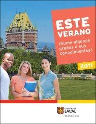 escuelas de verano - Université Laval