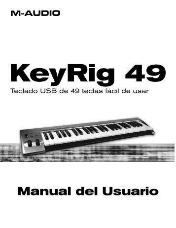 Manual de usuario de KeyRig 49 - M-Audio