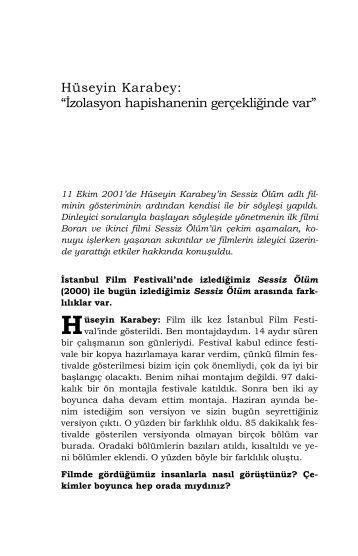 Hüseyin Karabey - Mithat Alam Film Merkezi