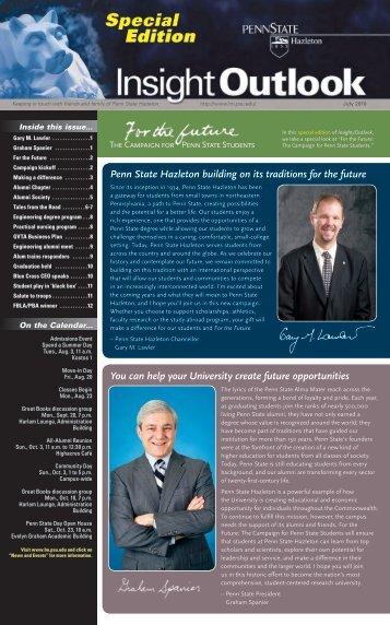 Edition - Penn State Hazleton - Penn State University