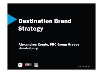 Destination Brand Strategy - HuReDePIS