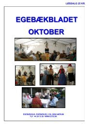 EGEBÆKBLADET OKTOBER - Center for døve