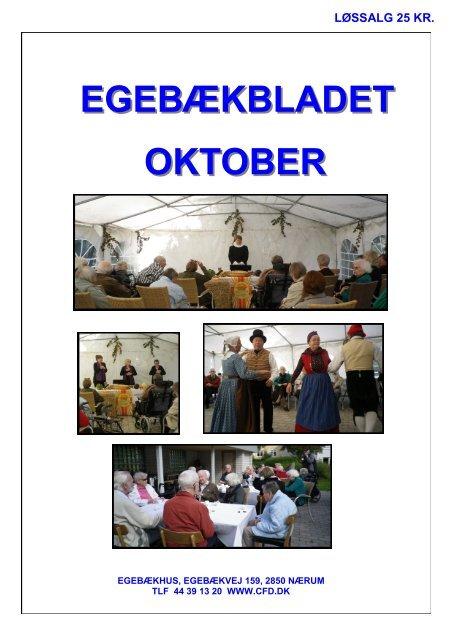 EGEBÆKBLADET OKTOBER - Center for døve