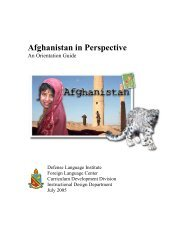 Afghanistan in Perspective - Nh-tems.com