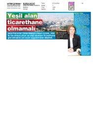 07.03.2012 tarihli bursa hayat gazetesi