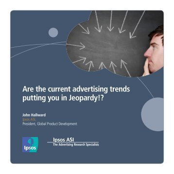 Are the current advertising trends putting you in Jeopardy!?