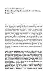 Yeni Türkiye Sineması - Mithat Alam Film Merkezi