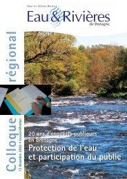 Partie 1 - Eau et rivières de Bretagne