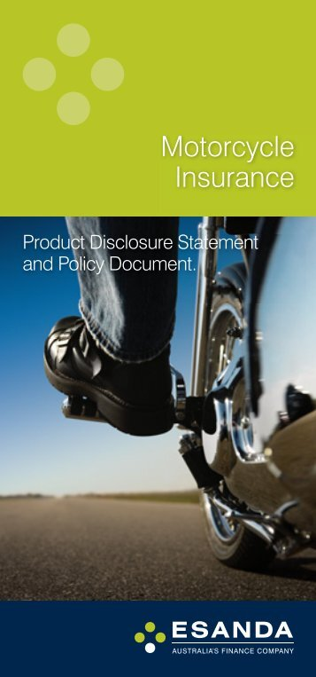 Motorcycle Insurance - Stratton Finance