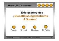 Dienstleistungszentrums 4 Sonnen - Raumplanung Steiermark