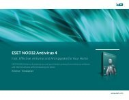ESET NOD32 Antivirus 4 - L4 Networks
