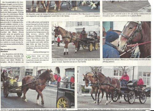 Pferdestärken ziehen durch Liestal