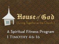 A Spiritual Fitness Program A Spiritual Fitness Program - Doczine