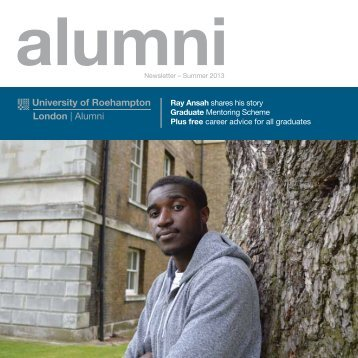 Summer Alumni Newsletter - Roehampton