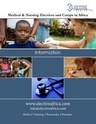information www.electiveafrica.com