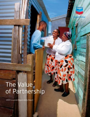 Chevron Corporate Responsibility Report 2009