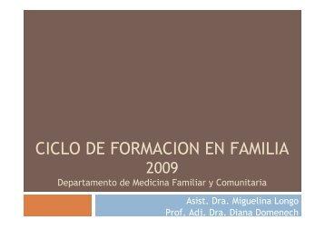 Ciclo taller 4 - Página de los Residentes de Medicina Familiar y ...
