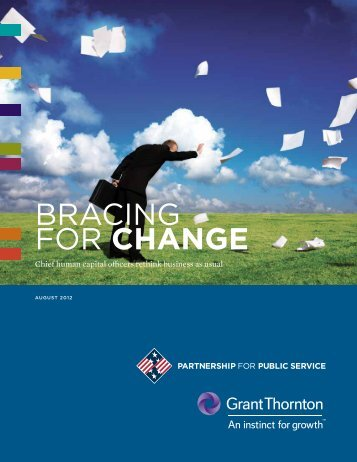 BRACING FOR Change - Partnership for Public Service