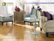 2013 Flooring - Harris Wood