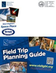Field Trip Planning Guide - National Radio Astronomy Observatory ...