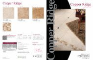 Copper Ridge Brochure - Bolick Distributors