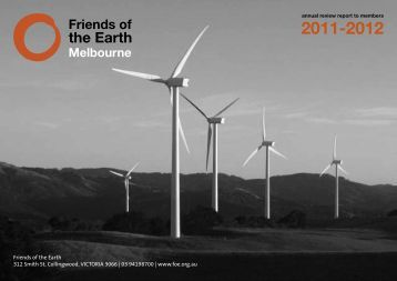 here - Friends of the Earth Melbourne - Friends of the Earth Australia