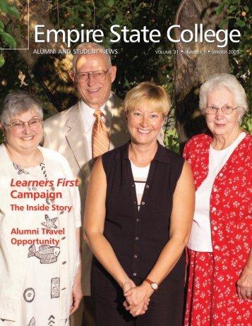 Empire News Winter 2005 (PDF 3327kB) - SUNY Empire State ...