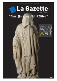 La Gazette de Dijon «New York Special Edition» - March 1-4, 2010
