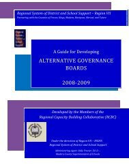 A Guide for Developing Alternative Governance Boards