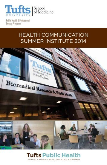 Health Communication Summer Institute Brochure 2014