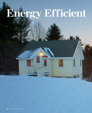Energy Efficient From the Ground Up - Finish Werks