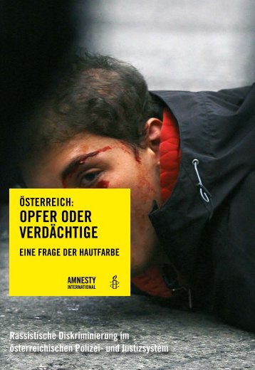 Opfer oder Verdächtige - Amnesty International Österreich