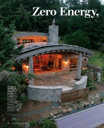 Zero Energy, Infinite Appeal - Chief Architect