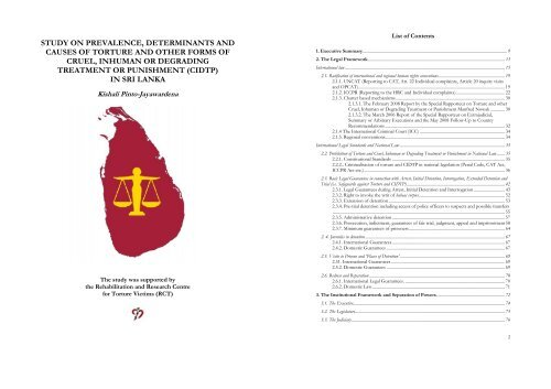 Download the study here - Dignity - Danish Institute Against Torture