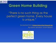 Green Home Building - Finish Werks
