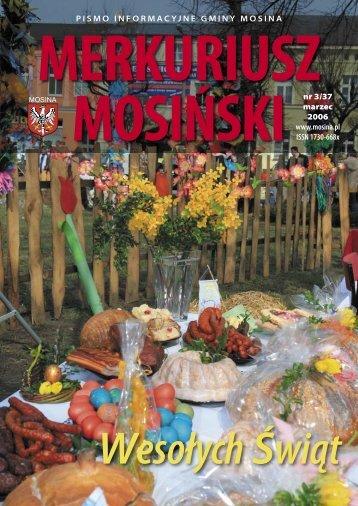 Wydanie Nr 3/37 (marzec 2006) - Mosina, Urząd Miasta