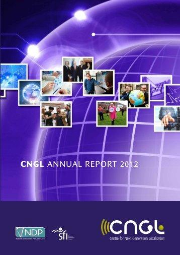CNGL Annual Report 2012