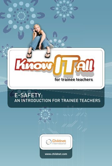 e-safety introduction for trainee teachers.pdf - PGCE