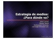 Ponencia John Lavine - Instituto de Prensa