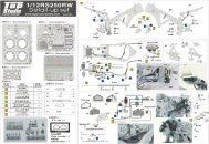 TD23085: 1/12 RS250RW Detail-Up Set - Top Studio