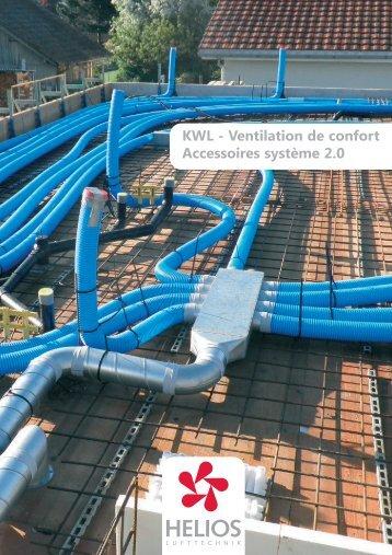 Ventilation de confort. Accesoires système 2.0 - Helios Ventilatoren AG