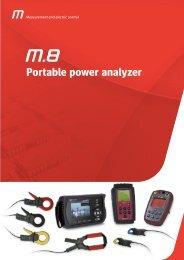 Portable power analyzer - Metartec