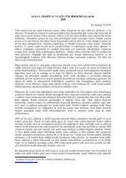 sanat, edebđyat ve kültür bđrđkđmđ olarak 2008 - İbrahim Tüzer
