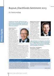 Expertenumfrage - P+P Pöllath + Partners