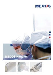 Kanülen - Medos Medizintechnik AG