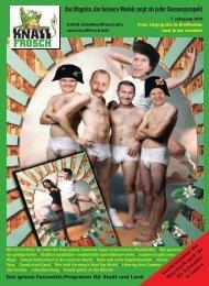 KnallFrosch 2010 - Das Magazin, das heissere Models zeigt als jeder Dessousprospekt