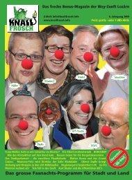 KnallFrosch 2009 - Das grosse Fasnachts-Programm für Stadt und Land