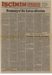 İşçinin Gazetesi, Yıl 1, Sayı 2 - TKP