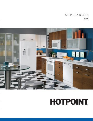 2010 Hotpoint Catalog - Advancerefrigeration.com