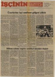 İşçinin Gazetesi, Yıl 1, Sayı 7 - TKP
